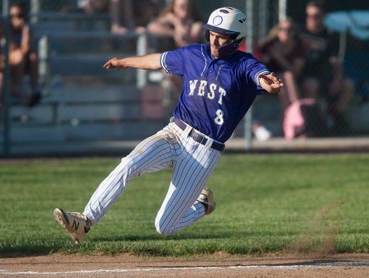Baseball:  Cherry Hill West vs, Highland