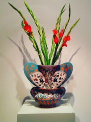 Vase by Andrea Gill of Alfred, New York.