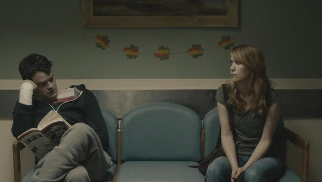 "Bill Hader and Kristen Wiig in a scene from ""The Skeleton Twins."""