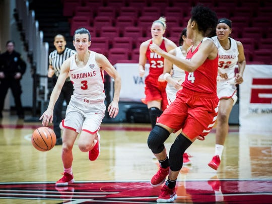 Ball State defeated Western Kentucky 93-81 at Worthen Arena Thursday, Dec. 21, 2017.