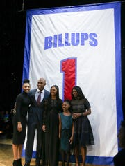 Former Detroit Piston Chauncey Billups and his family