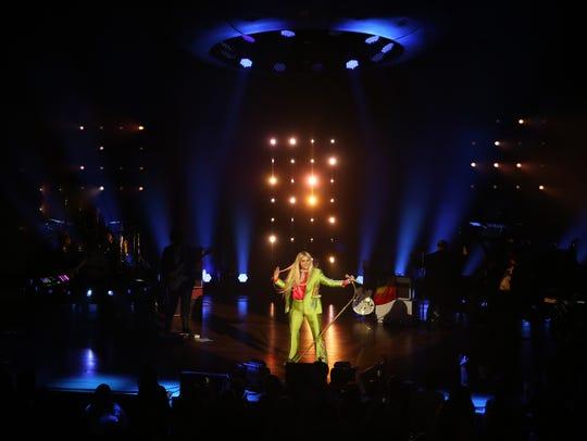 Kesha performs at the Ryman Wednesday September 27,