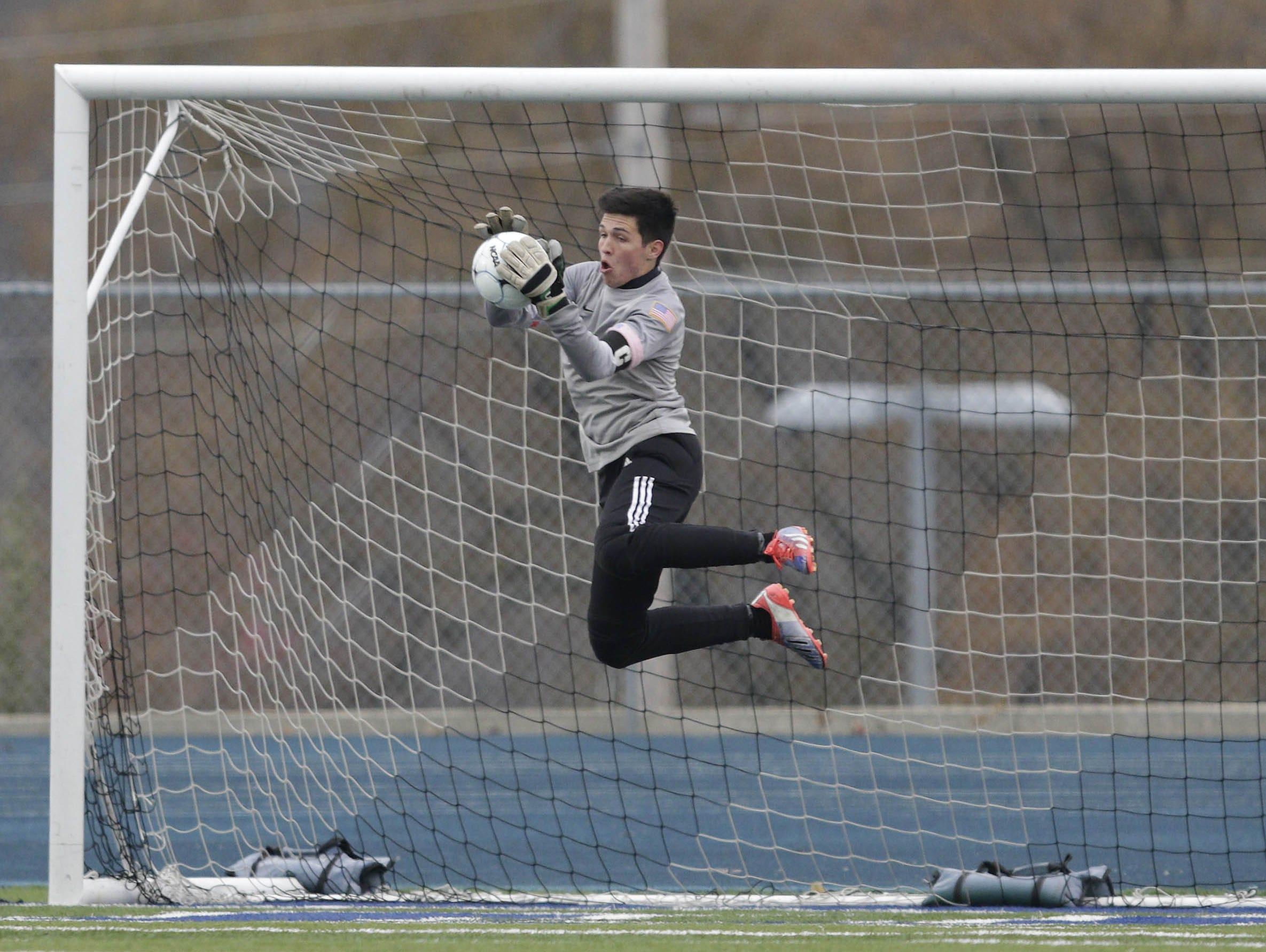 Glendale senior goalkeeper Nicholas Lantz was named Class 3 goalkeeper of the year three times by the Missouri High School Soccer Coaches Association.