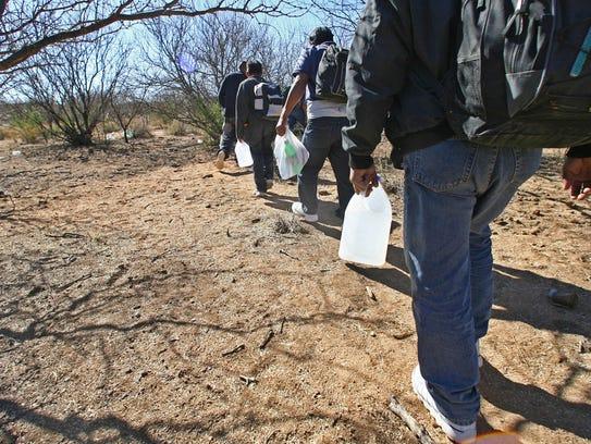 El número de migrantes muertos en el desierto de Sonora