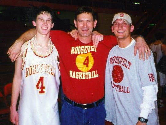 Luke Tibbetts, Fred Tibbetts and Nate Tibbetts.