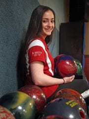 Rockland bowler of the year Nicole Cona is photographed