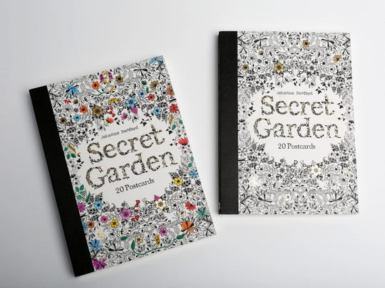 Secret Garden 20 postcards ($9.95) from Maria Luisa