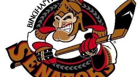 Binghamton Senators logo.
