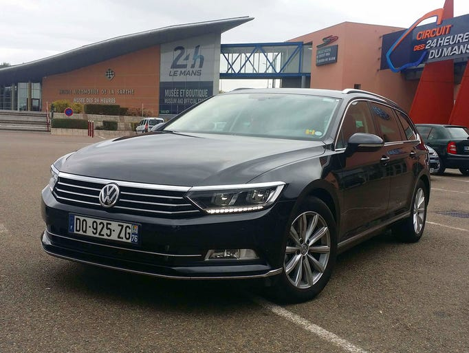 The 2015 European Passat is based on the MQB platform
