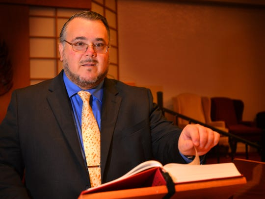 Rabbi Craig Mayers was recently ordained and    installed