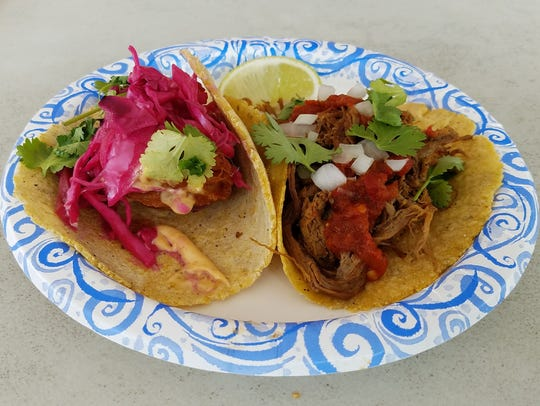 The Barbacoa taco has just the right combination of