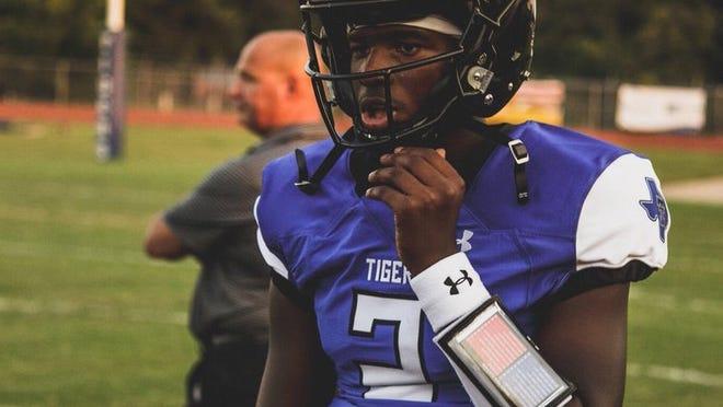 Shedeur Sanders, Deion Sanders' son and the quarterback at Trinity Christian Cedar Hill (Photo: Twitter screen shot)