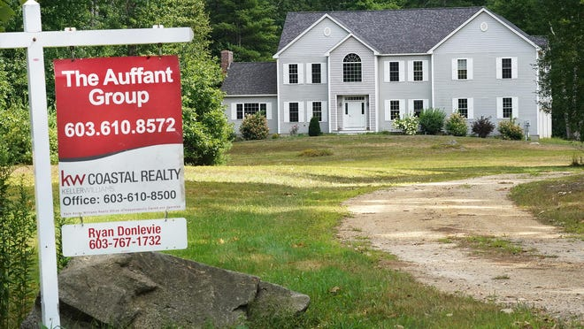 A home for sale this week on Old Town Road in Exeter.