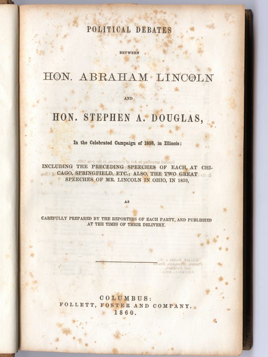 Debates of Lincoln and Douglas