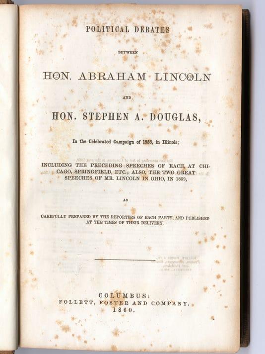 Debates of Lincoln and Douglas