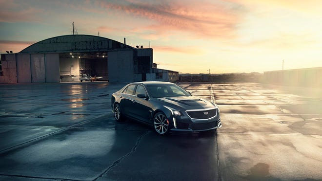 The all-new 2016 Cadillac CTS-V luxury performance sedan, to be built at General Motors Co.'s Lansing Grand River assembly plant, will debut at the North American International Auto Show in Detroit in January. The CTS-V has a top speed of 201 mph and can accelerate from 0-60 mph in 3.7 seconds. Cadillac says production will begin in the summer.