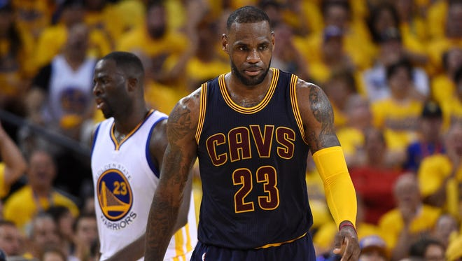 LeBron James and the Cavs shot just 35.4% in Game 2.