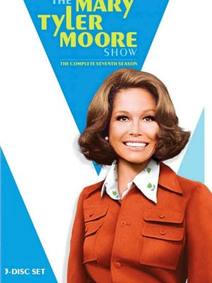 The Mary Tyler Moore Show: The Complete Seventh Season, DVD cover.