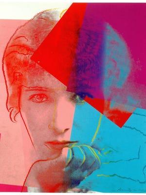 """Andy Warhol, """"Sarah Bernhardt,"""" 1980."""