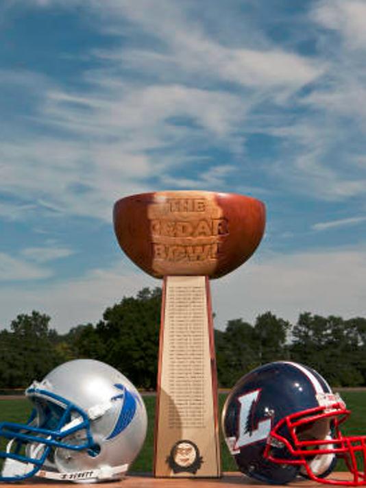 The 44th Cedar Bowl begins Friday at 7 p.m. inside Cedar Crest's Earl Boltz stadium.