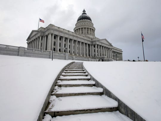 FILE - This Feb. 24, 2017, file photo, shows the Utah