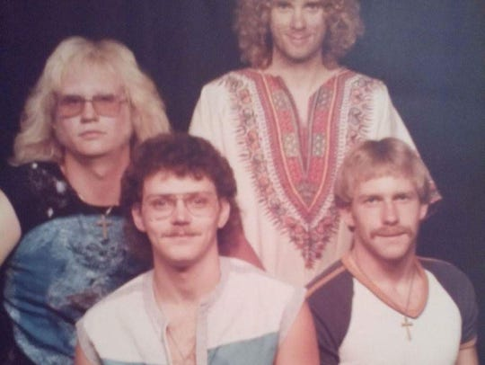 Area hard rock band RIP, shown in n the early 1980s,