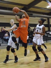 Lakeview's Derika Browder (10) goes up for a layup