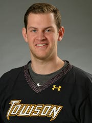 Corning East graduate Tyler White, a senior at Towson