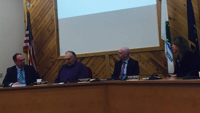 Rib Mountain officials talk about their decision to file legal action to block the implementation of the Marathon County Uniform Addressing System.