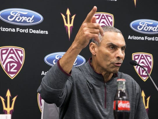 New coach Herm Edwards and ASU signed 11 players during the inaugural early signing period.