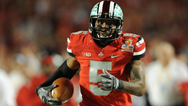 Ohio State quarterback Braxton Miller was pictured on Instagram on last month with health-care and nutritional products.