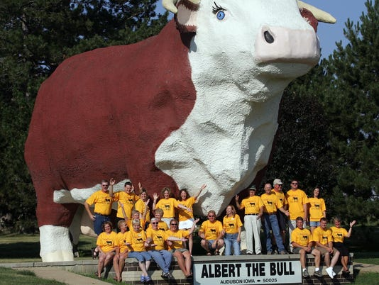 Albert the Bull and Audubon committee