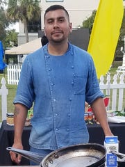 Chef Jose Peralta of The Chef's Table recently competed in Stuart Chopped! at the ArtsFest in Stuart.