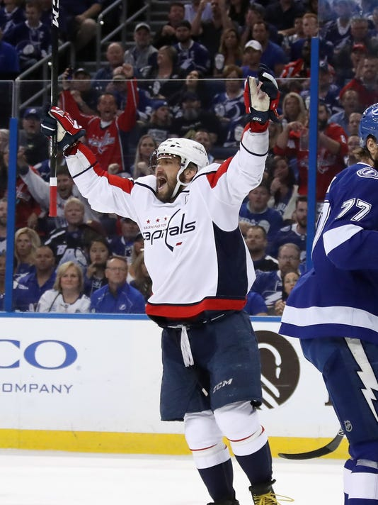 Washington Capitals v Tampa Bay Lightning - Game One