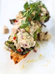 Marketplace's spring crab salad crafted by sous chef