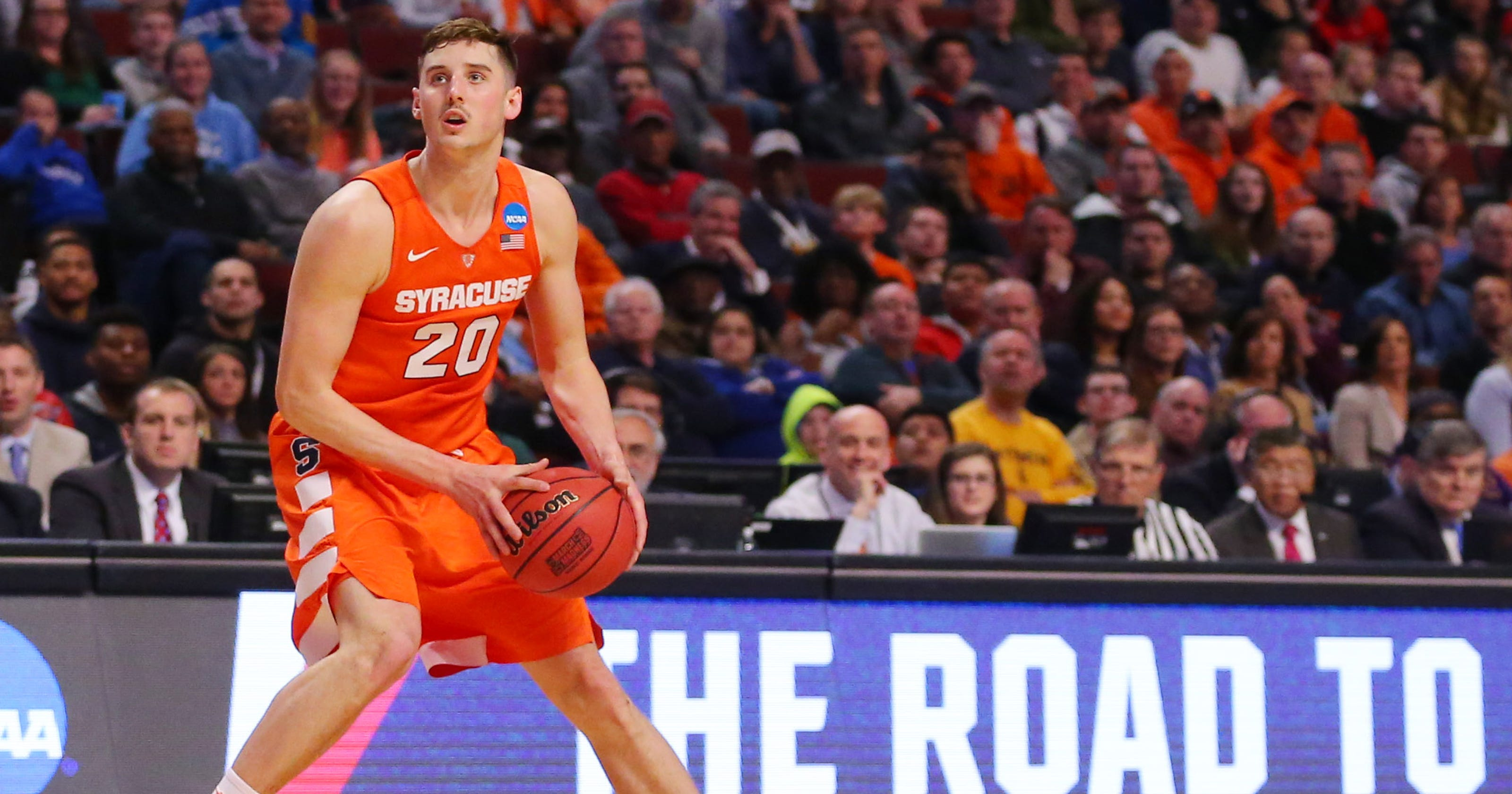 03e2b44baffb4d  Shoeless  Tyler Lydon comes of age for Syracuse