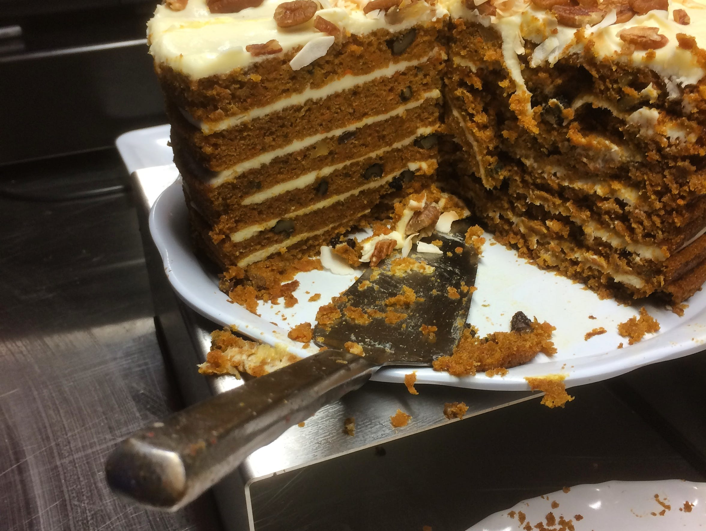 Go big or go home with the six-layer carrot cake.