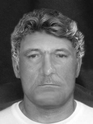 A forensic sketch artist provided this likeness of a victim from a 1992 homicide that took place off Sand Canyon Road in Wellington. Local authorities seek the public's help in identifying the man after new details in the case recently emerged.