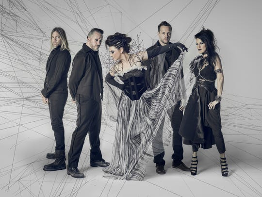 "Evanescence released the album ""Synthesis"" in 2017."