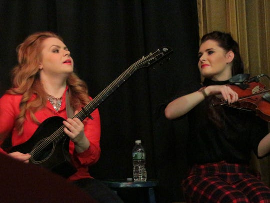 Maggie and Cassie MacDonald, a sister duo from Nova Scotia, are among the younger performers at 6 On The Square in recent years.