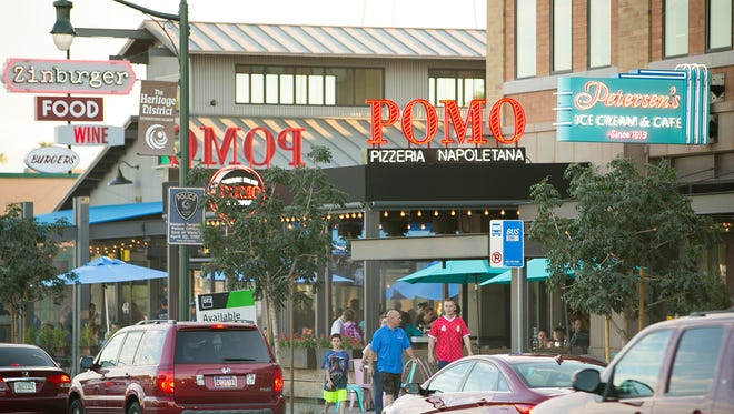 Gilbert's Heritage District has grown into a destination spot for dining.