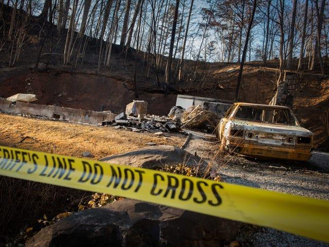 TEMA: Death toll rises to 11 in Gatlinburg wildfires