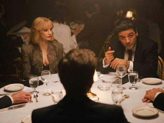 Jessica Chastain and Oscar Isaac in 'A Most Violent