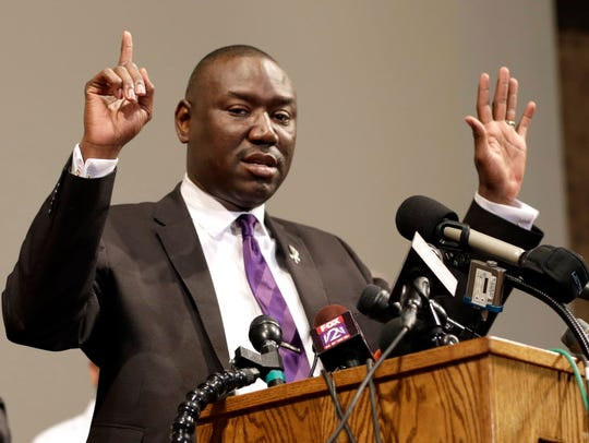 Benjamin Crump, attorney for the family of slain teen