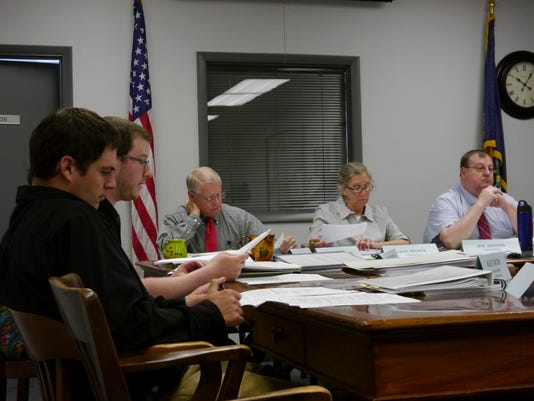 Cascade County planning staff and commissioners