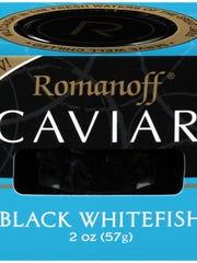 Kosher caviar.