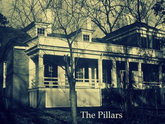 Pillars B&W 1