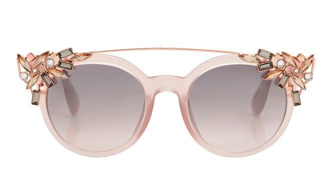 "Jimmy Choo ""Vivy"" sunglasses, $605, JimmyChoo.com."