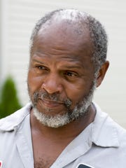 Lawrence Burks, at his Sherwood Street home on the