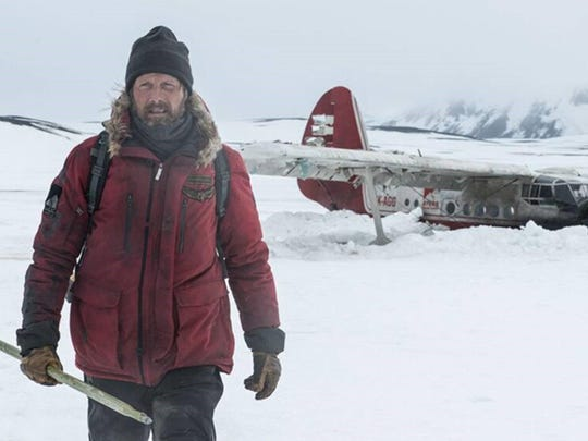 "Mads Mikkelsen in the film, ""Arctic."" (Stefano Baroni)"